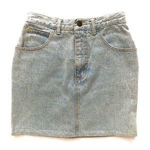 Guess | Vintage High Waist Denim Skirt